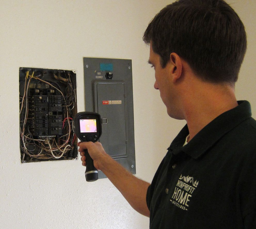 Infrared cameras and thermal imaging is used on all of our home inspections.
