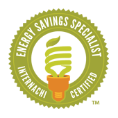 Our inspectors are certified Energy Saving Specialists.