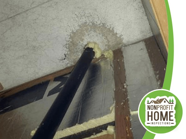 Water intrusion issues apparent in an inspection of a mobile home in Oregon City.