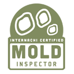 Mold testing as part of a home inspection in Vancouver, WA.