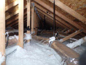 Defects found in a Ridgefield home inspection.