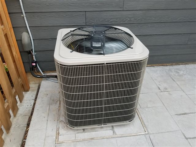 testing an air conditioner